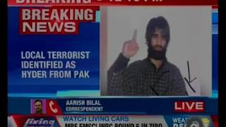 2 militants killed in Anantnag encounter identified,one as Asif Nasir Malik & another is a foreigner - NEWSXLIVE