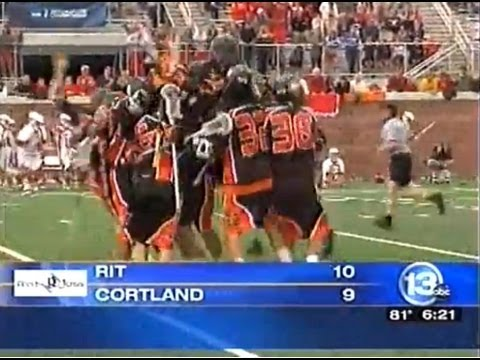 RIT on TV: Men's Lacrosse beats Cortland