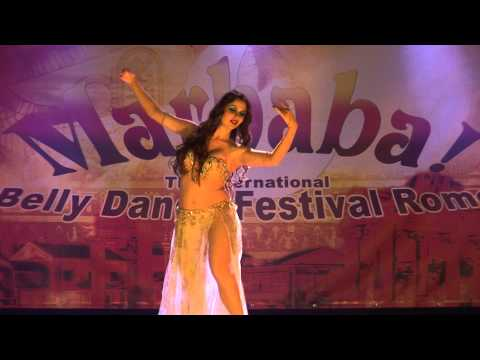 Maryem Bent Anis, Ba3ad El Hob Belly Dance, for Marhaba Festival 2013, Rome