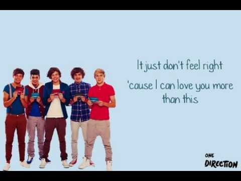 More Than This - One Direction [Karaoke/Instrumental + Lyrics]