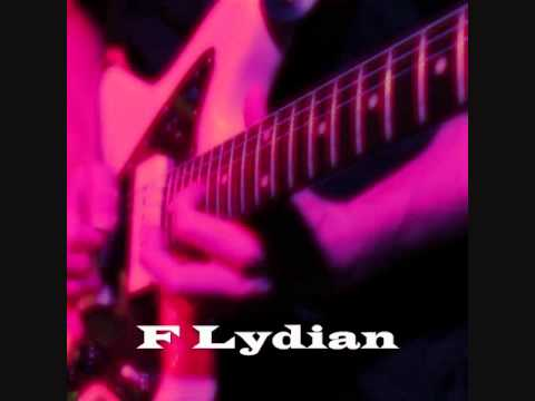 F Lydian Mode/Scale - groovy cruisin' backing track! (Free mp3)