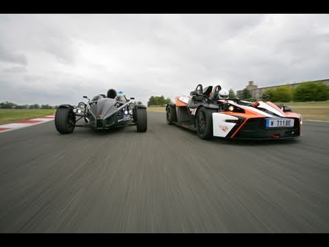KTM X-Bow R vs Ariel Atom 300 on track (Motorsport)