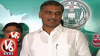 Minister Harish Rao assured farmers on buying of cotton yield in state - V6NEWSTELUGU