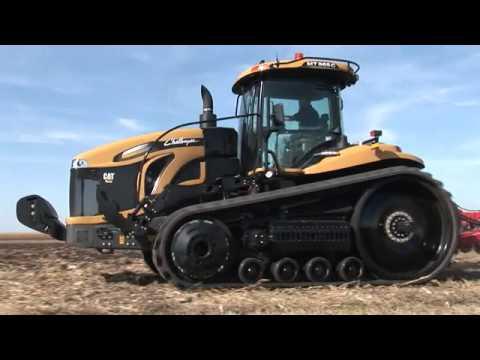 Paletli Traktör Challenger 800 c Modeli