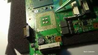 Ремонт ноутбуков - Замена сокета процессора или что такое отвал сокета. Часть 1.