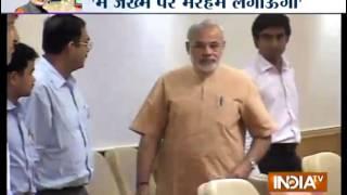 Modi to spend Diwali in flood-hit J&K - INDIATV
