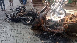 Chandigarh: Miscreants set 3 bikes belonging to one family on fire - TIMESOFINDIACHANNEL