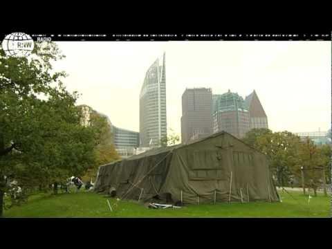 البرلمان الهولندي يناقش مخيمات اللاجئين