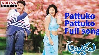 Pattuko Pattuko Full Song ll Naa Alludu Movie ll Jr.Ntr, Shreya Sharan,Genelia - ADITYAMUSIC