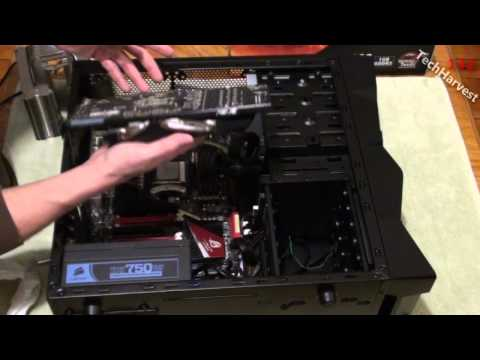 Upgrading A PC: Removing The CPU, Motherboard, Graphics Card, RAM, & CPU Cooler