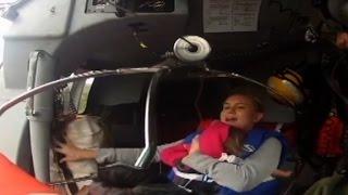 Mom rescued by Coast Guard: 'I was terrified' - CNN
