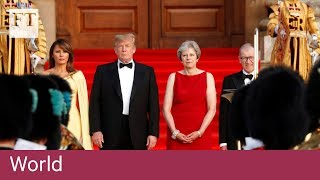 Donald Trump greeted with British pomp at Blenheim Palace - FINANCIALTIMESVIDEOS