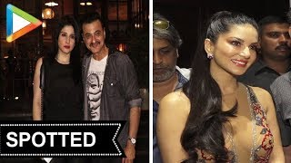 SPOTTED: Sunny Leone, Sanjay Kapoor and others @Soho House - HUNGAMA