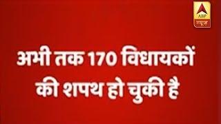 Karnataka Vidhan Sabha proceedings adjourned till 3:30, 170 MLAs so far take oath - ABPNEWSTV