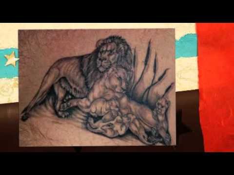 Löwe Tattoo Vorlage