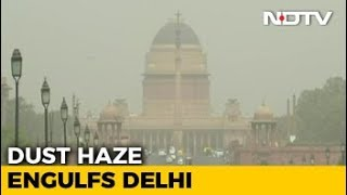 Delhi Continues To Wear The Haze Blanket As Pollution Remains Severe - NDTV