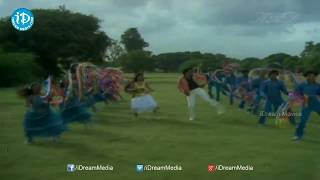 Manmadanama Samvathsaram Song - Bhargava Ramudu Movie Songs - Balakrishna, Vijayashanti, Mandakini - IDREAMMOVIES