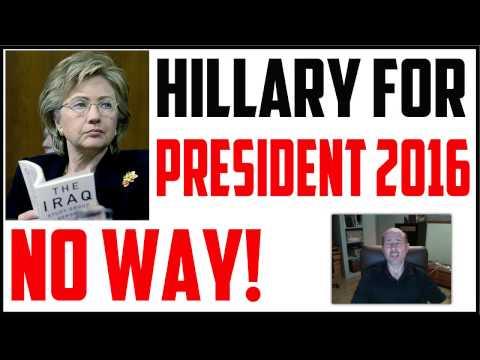 HILLARY 2016 – Will Hillary Clinton Run