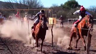 Carreras de caballos en El Tepetate (Loreto, Zacatecas)