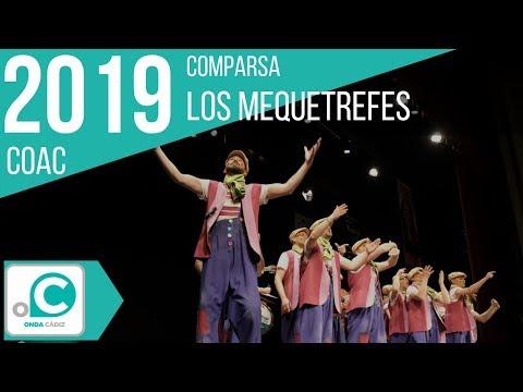 La agrupación Los mequetrefes llega al COAC 2019 en la modalidad de Comparsas. Primera actuación de la agrupación para esta modalidad.