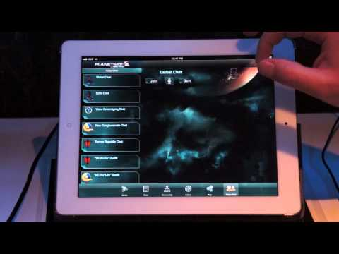 E3 2012 - Planetside 2 iOS Demo With SOE's Josh Hackney