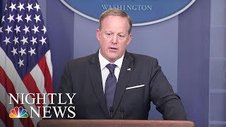 Sean Spicer Is Out, Scaramucci Is In As Part Of White House Shakeup | NBC Nightly News - NBCNEWS