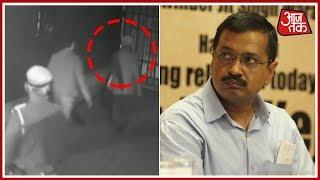 CM आवास के CCTV फुटेज सीज - AAJTAKTV
