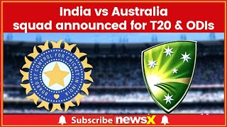 Virat Kohli returns to the side as BCCI announce squad for 2 T20, 5 ODIs against Australia - NEWSXLIVE