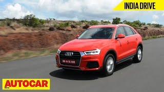 2015 Audi Q3   India Drive   Autocar India