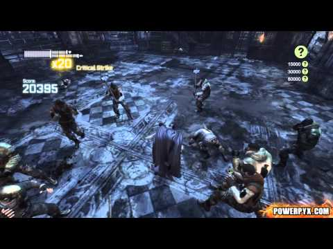 Batman: Arkham City - Combat Challenge 8 (Survival of the Fittest EXTREME) - 68960 Points