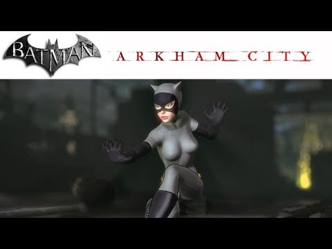 Batman Arkham City PC (1080p) Catwoman Character Trophies 3D Models Figurines