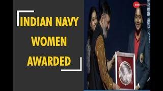 5W1H: 6 Indian Navy women awarded who sailed around the world - ZEENEWS