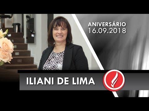 Aniversário Pra. Iliani de Lima - Ir. Elizabete Machado - 16 09 2018