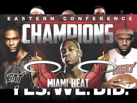 """CHAMPION"" NEW MIAMI HEAT SONG 2012"