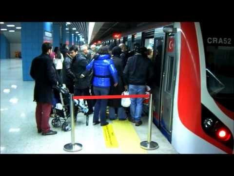Marmaray rail tunnel - Bosphorus - Istanbul Turkey - TCDD - Asya-Avrupa - Sirkeci Üsküdar