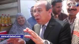 بالفيديو والصور.. بدء مشروع توزيع السلع الغذائية على قرى ومدن محافظة دمياط