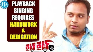 Playback Singing Requires Hardwork & Dedication - Hymath || Talking Movies With iDream - IDREAMMOVIES