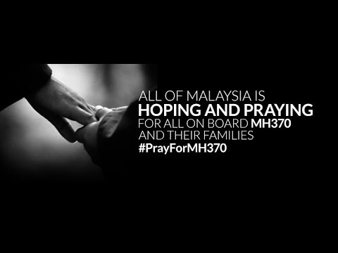 Social Media Messages #PrayForMH370