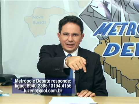 Consultor Previdencirio Paulo Bacelar no Metrpole Debate (14.03.13)