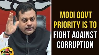Sambit Patra Says Modi Government Priority Is To Fight Against Corruption | Mango News - MANGONEWS