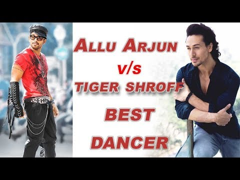 टाइगर श्रॉफ  VS अल्लू अर्जुन | Tiger Shroff  VS Allu Arjun Who is Best Dancer Comment Garna