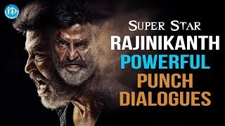 Superstar Rajinikanth Powerful Punch Dialogues    All Time Telugu Punch Dialogues    Volume 01 - IDREAMMOVIES