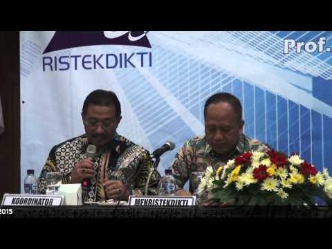 Menristekdikti Hadiri Forum Komunikasi Khusus Kopertis V Yogyakarta