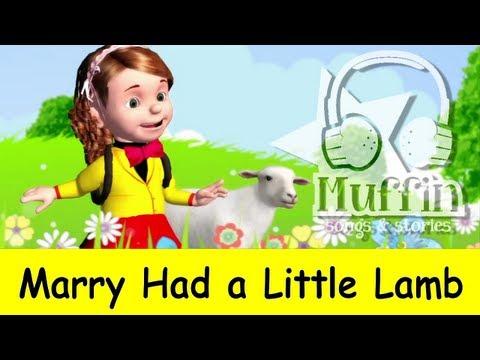 Muffin Songs – Mary Had a Little Lamb Tekerlemeler ve İngilizce Çocuk Şarkıları