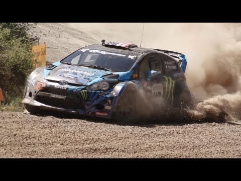 Ken Block Throwing Rocks: Hoonigan at OTR
