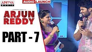 Arjun Reddy Audio Launch Part - 7 || Vijay Devarakonda || Shalini - ADITYAMUSIC