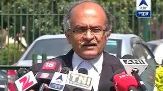 ESSAR case: Prashant Bhushan wants investigation against Nitin Gadkari - ABPNEWSTV