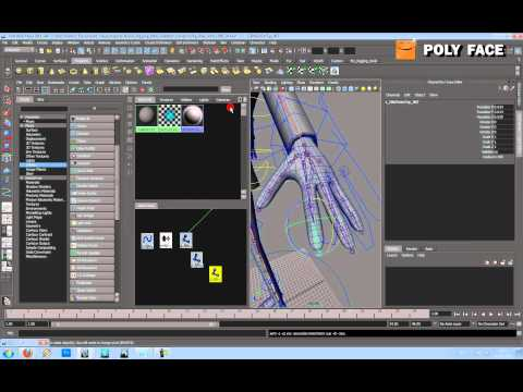 Maya Tutorial - Character Rigging - The Hand - Part 2/3