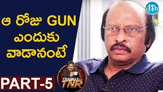 Siva Nageswara Rao Exclusive Interview Part #5 || Frankly With TNR || Talking Movies With iDream - IDREAMMOVIES