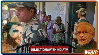 Polling Percentage Till 11AM: 24% In U.P,  20% In Bihar, 26% Chattisgarh, 32% Manipur, 27% Assam - INDIATV